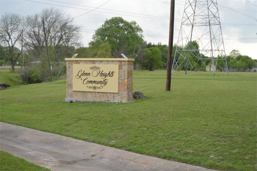 Glenn Heights Community Sign