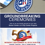 GROUNDBREAKING CEREMONIES