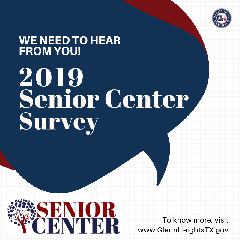 Senior Center Survey