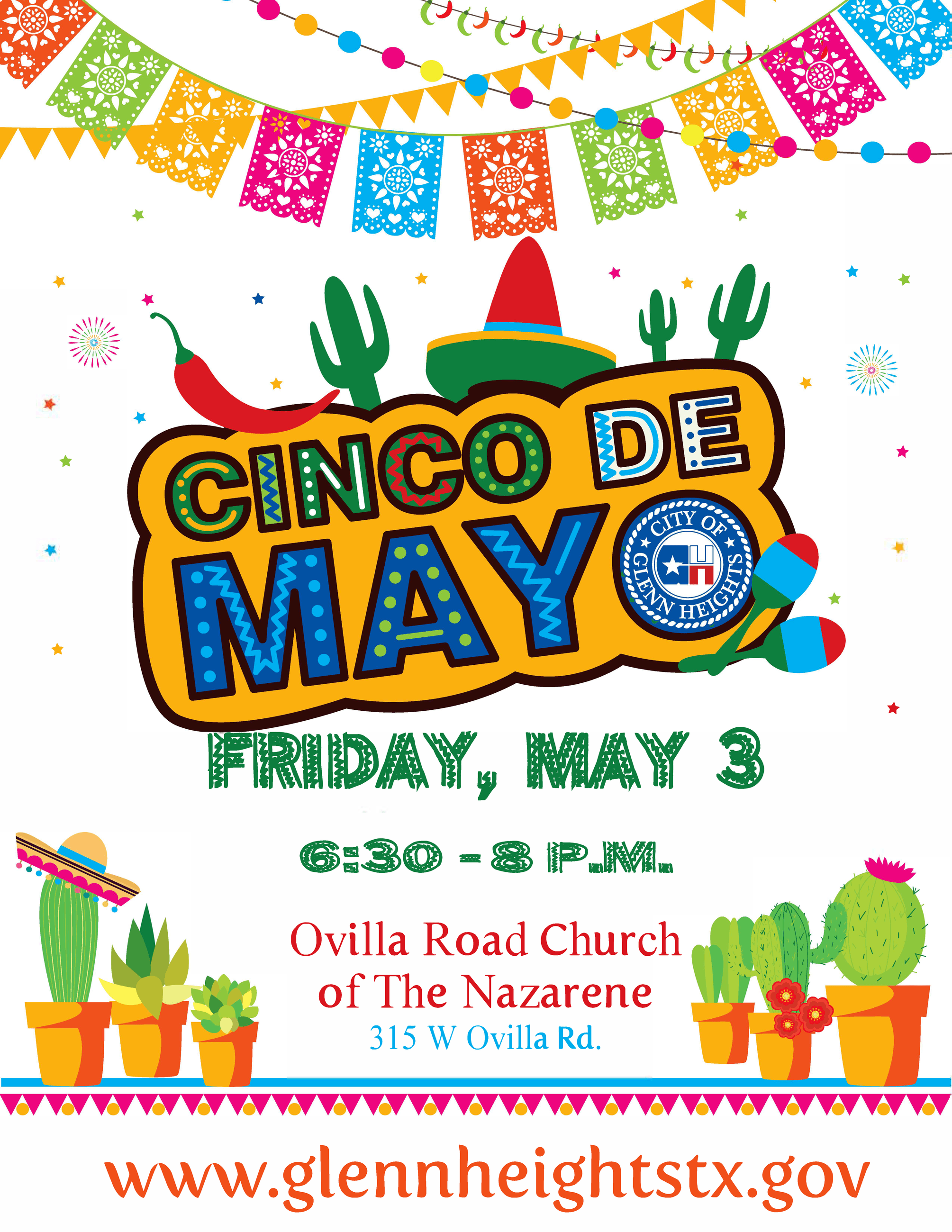 2019 Cinco De Mayo Celebration Flyer (JPG) Opens in new window